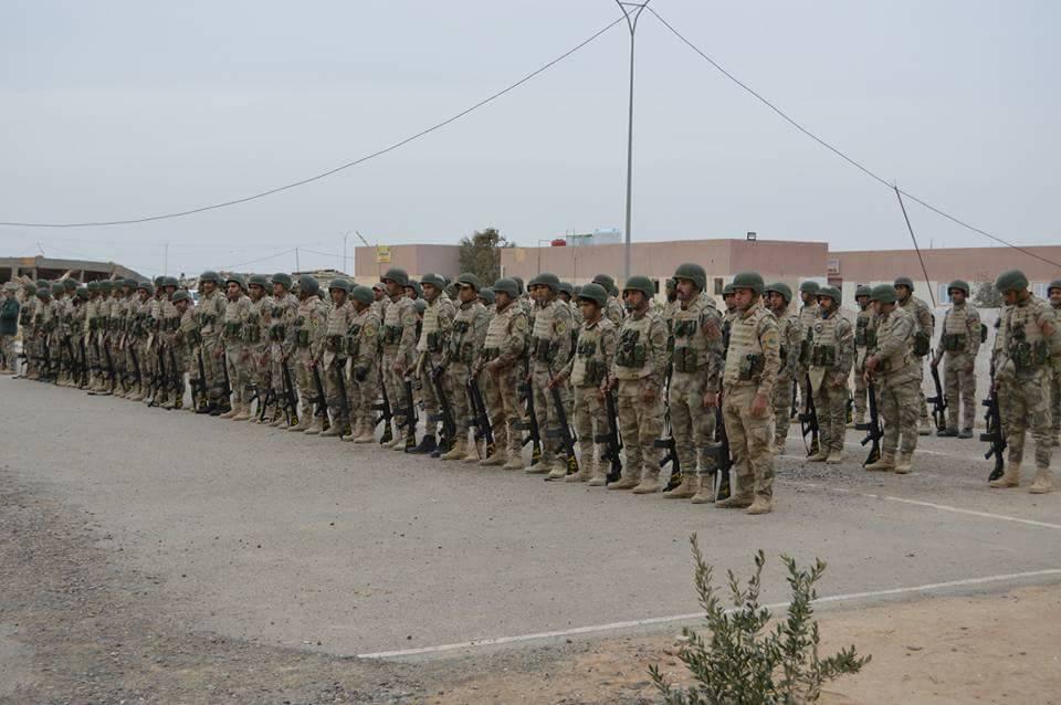 قوة من حرس الحدود تباشر بمسك منفذ الوليد والشريط الحدوي مع سوريا