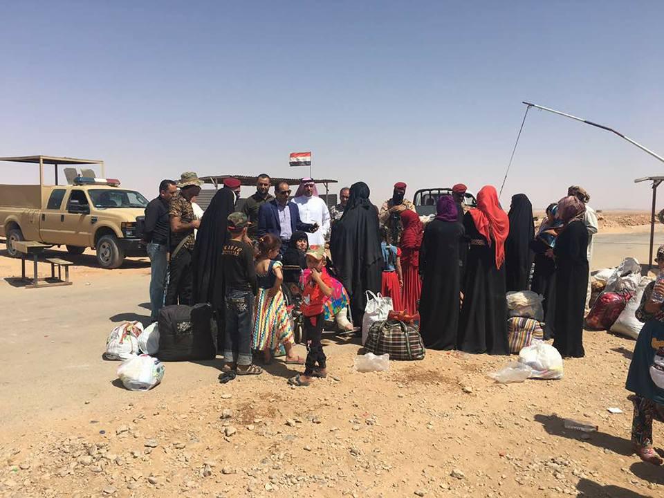 """نزوح 80 أُسرة من مناطق سيطرة """"داعش"""" غربي الأنبار"""