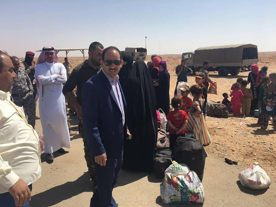 قائممقام الرطبة يعلن استقبال 350 نازحا من المناطق الغربية بالقضاء