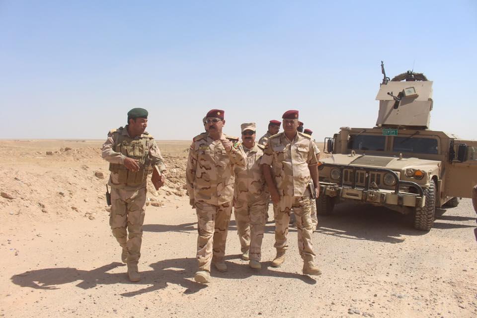 """اللواء الركن الزوبعي يعلن مقتل عناصر من """"داعش"""" بقصف جوي في عنه"""