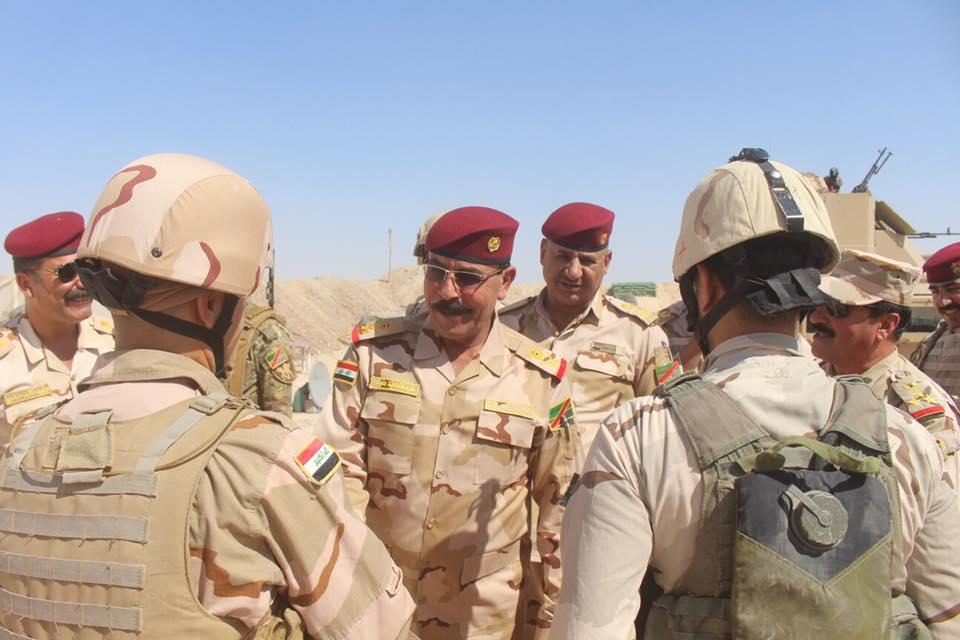 """الزوبعي يعلن تدمير اهدافا لـ""""داعش"""" في راوه والقائم تمهيدا لتحريرهما"""