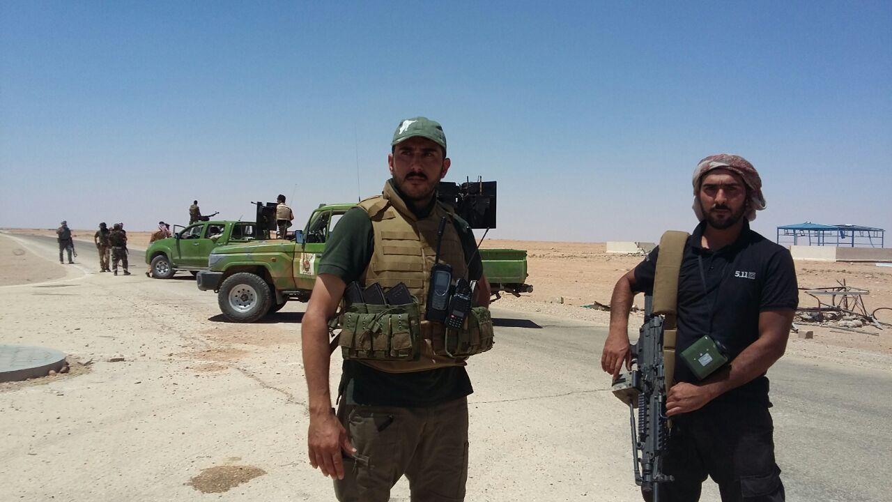 احباط هجوم انتحاري على منفذ الوليد الحدودي بالانبار مع سوريا