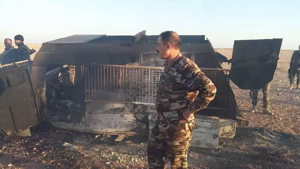 """احباط هجوم لـ""""داعش"""" على نقطة لحماية الطرق الخارجية غربي الأنبار"""