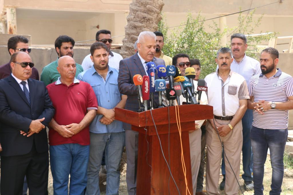 نقابة الصحفيين تقاضي مستشارا لمحافظ الانبار لتجاوزه على مراسل السومرية في المحافظة