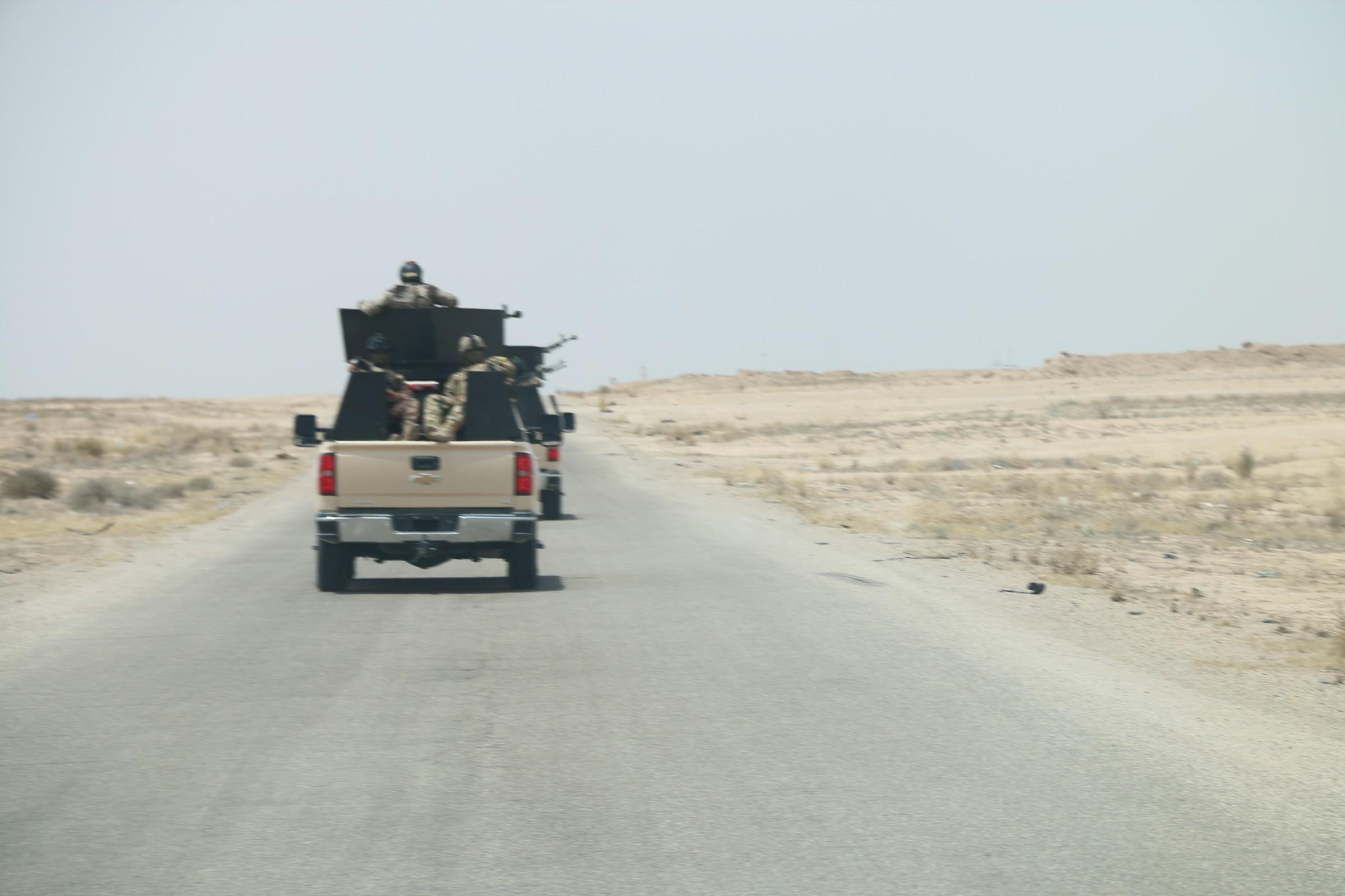 اعادة افتتاح طريق الرحالية – الفلوجة والرمادي بعد ثلاث سنوات على اغلاقه