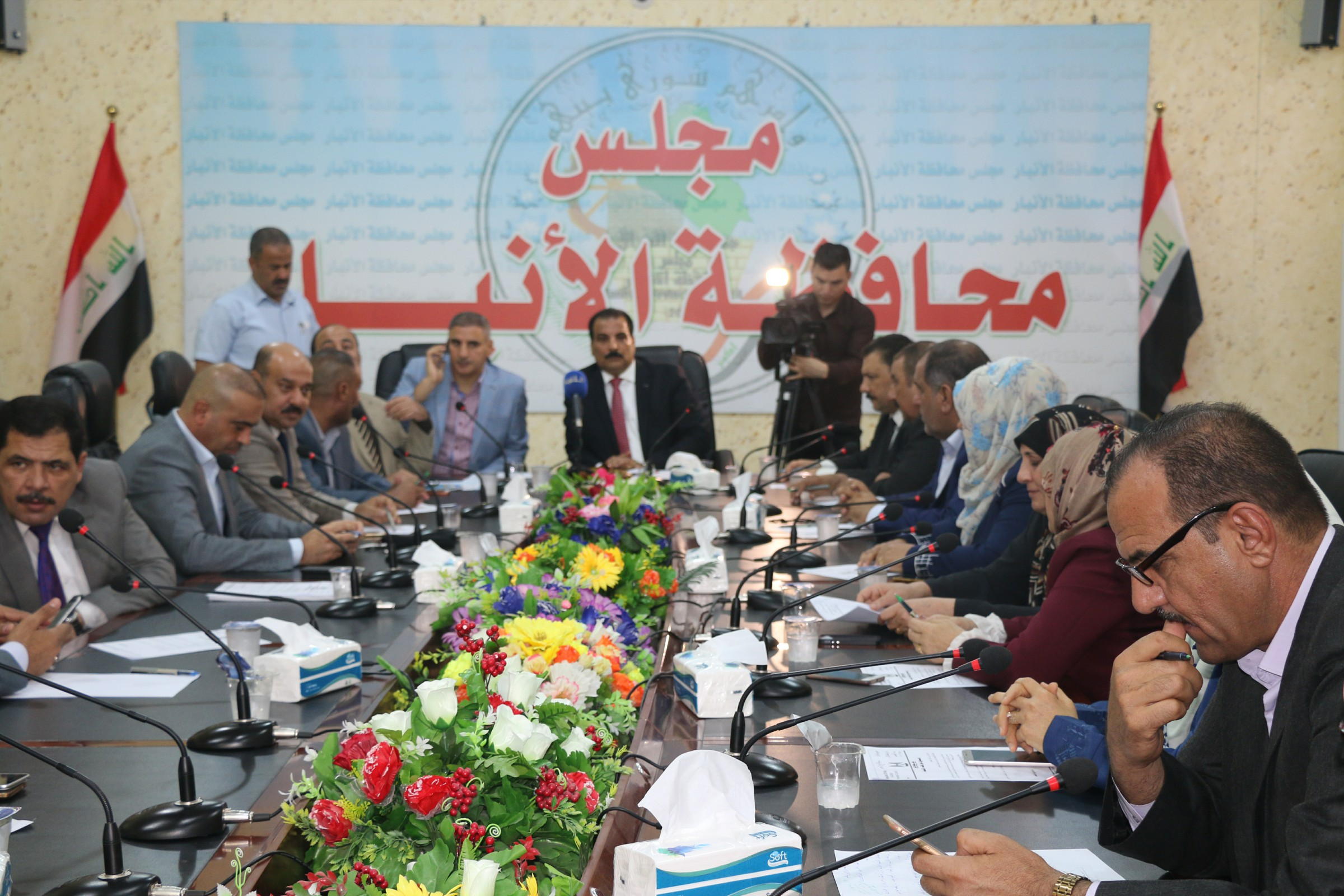 14 عضوا بمجلس الأنبار يقدمون طلبا لإقالة المحافظ صهيب الراوي