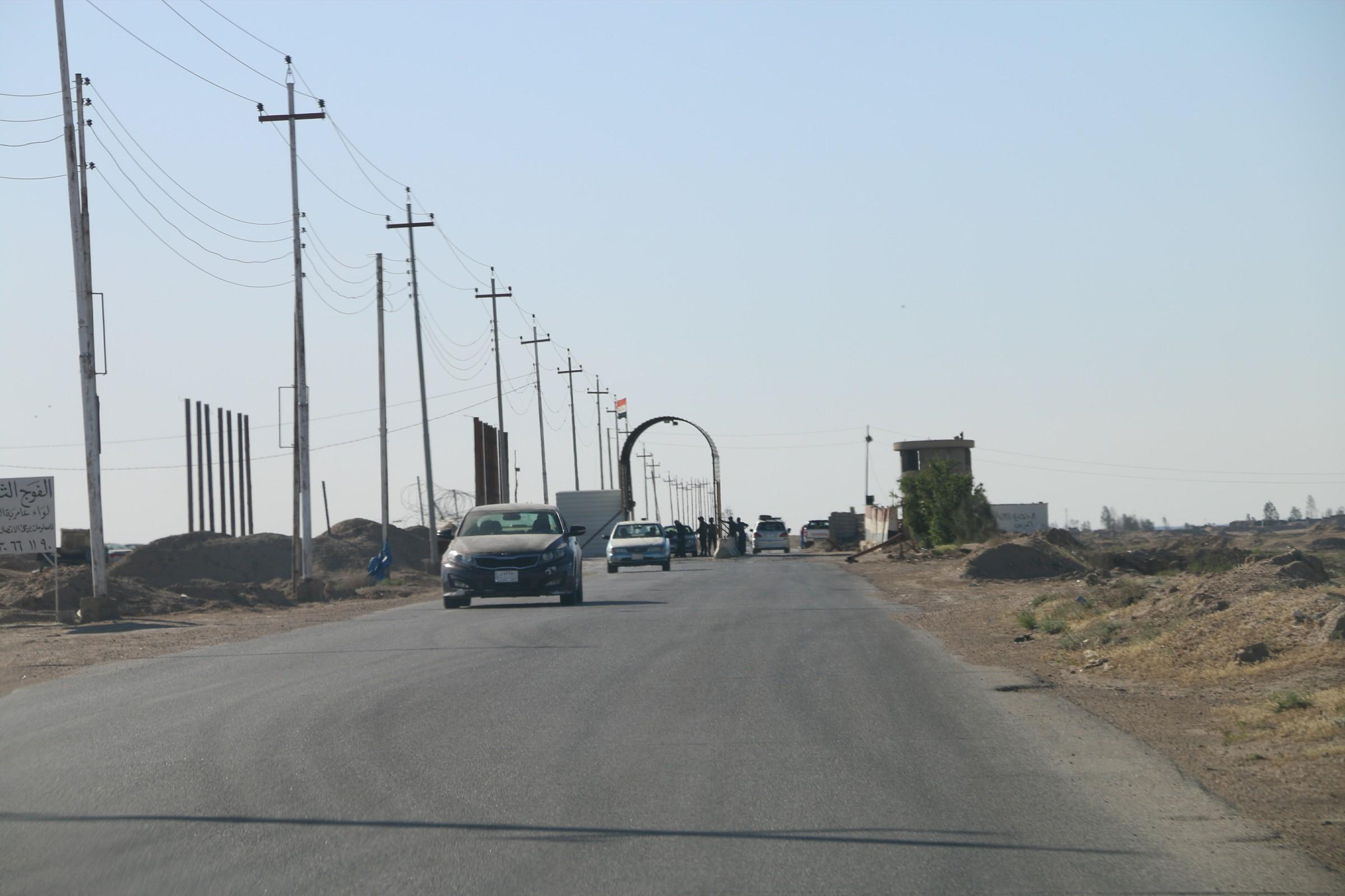 احباط هجومين انتحاريين على مركز شرطة عامرية الفلوجة