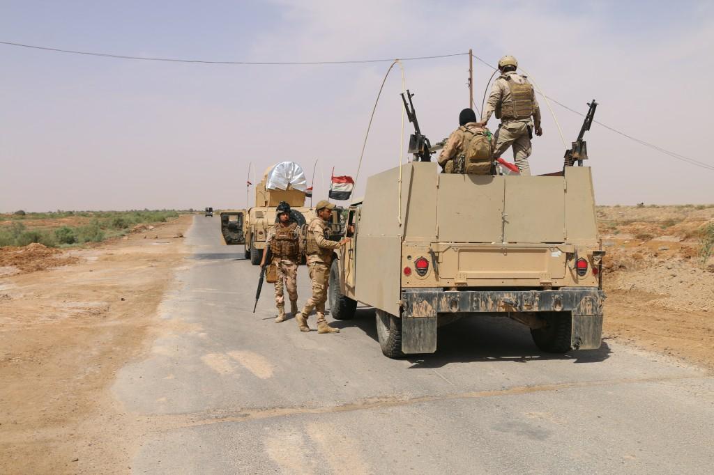 """قائد فرقة يؤكد مواصلة التقدم نحو القائم لتحريرها من """"داعش"""""""