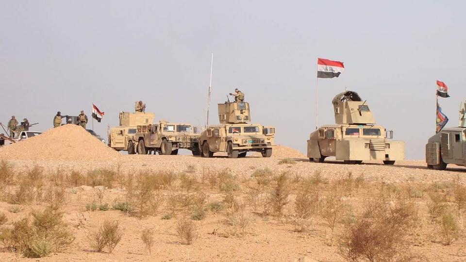 """قوة عسكرية تصد هجوما لـ""""داعش"""" على مقرها غرب الرطبة"""