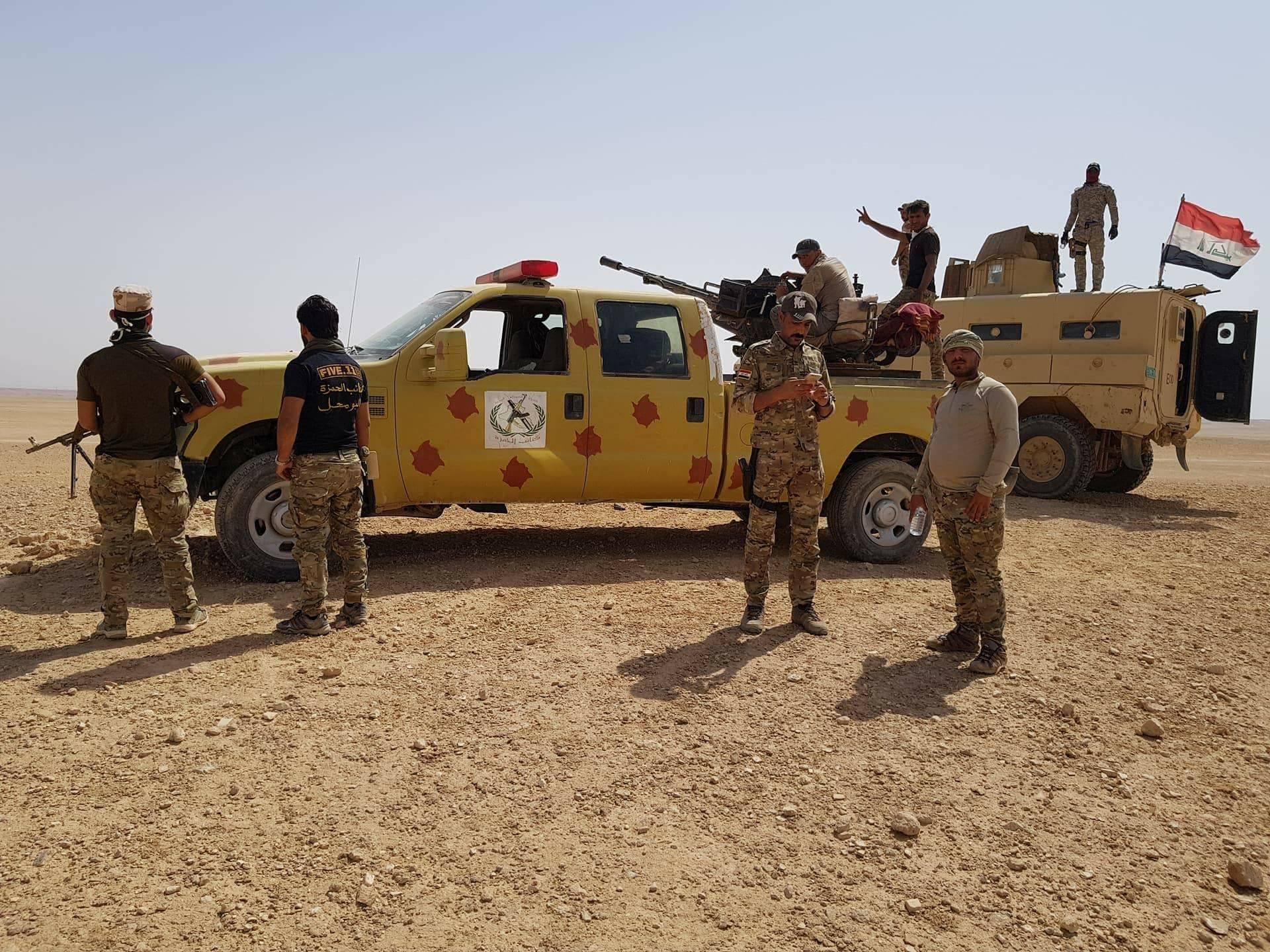 """""""كتائب الحمزة"""" تعلن اكمال استعداداتها للمشاركة بتحرير مناطق غرب الأنبار"""