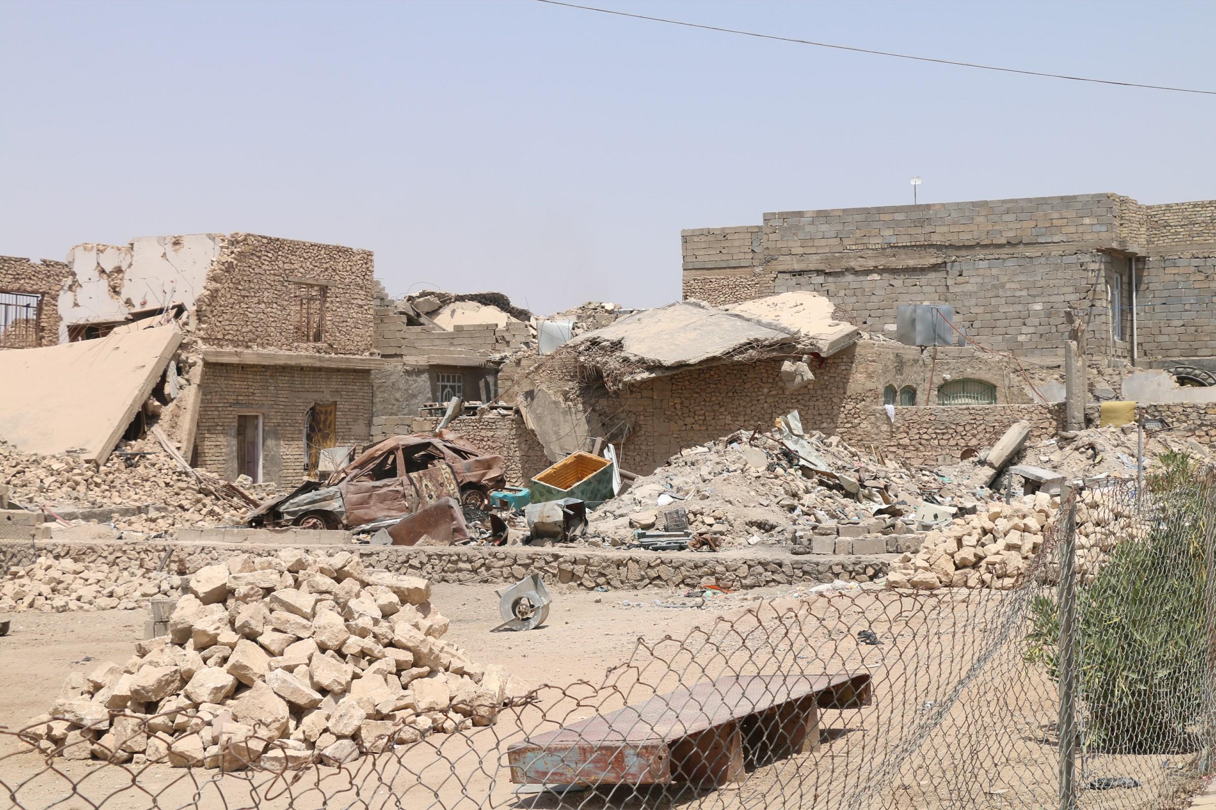 مقتل امرأة واصابة زوجها وابنتها بانفجار منزل مفخخ شرقي الكرمة