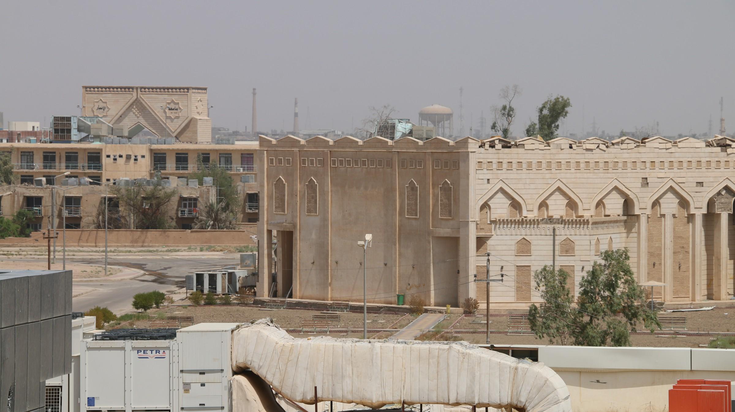 الاعلان عن عودة جامعة الانبار بشكل نهائي الى موقعها في الرمادي
