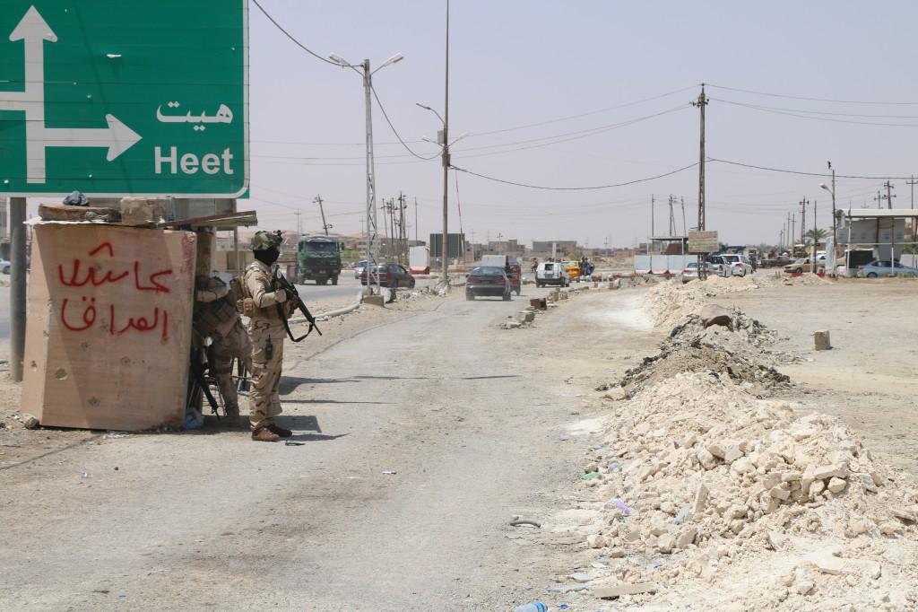 مجهولون يفجرون منزل لأحد عوائل داعش في هيت