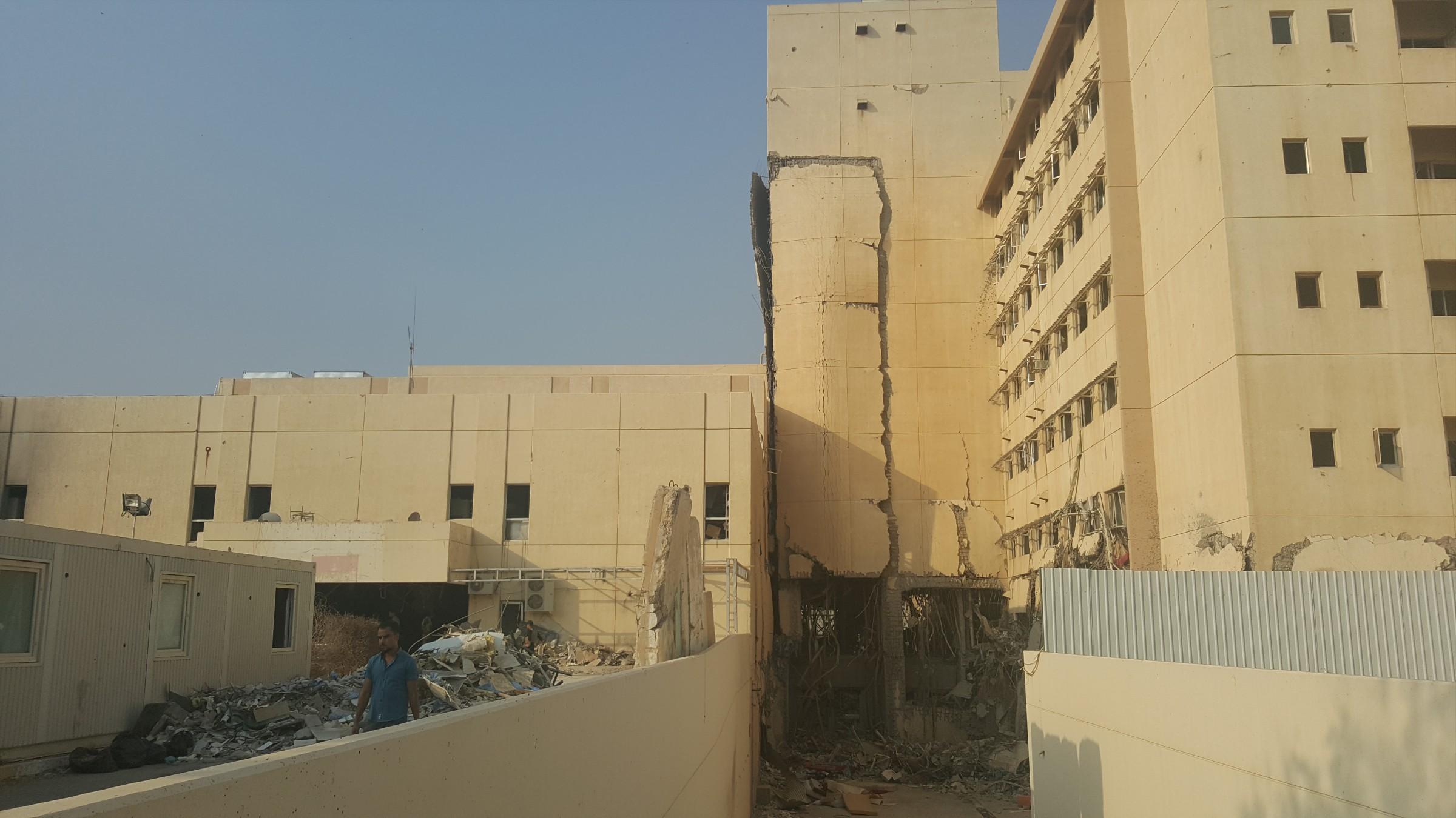 صحة الأنبار: حصلنا على وعود بإعادة بناء مستشفى الرمادي ولكنها لم تتحقق