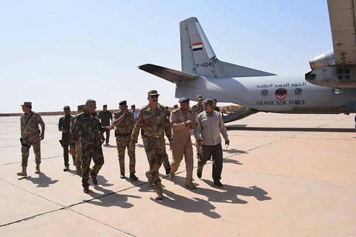 """إعادة تأهيل مطار """"المرصنات"""" لدعم القوات المشاركة بتحرير المناطق الغربية"""