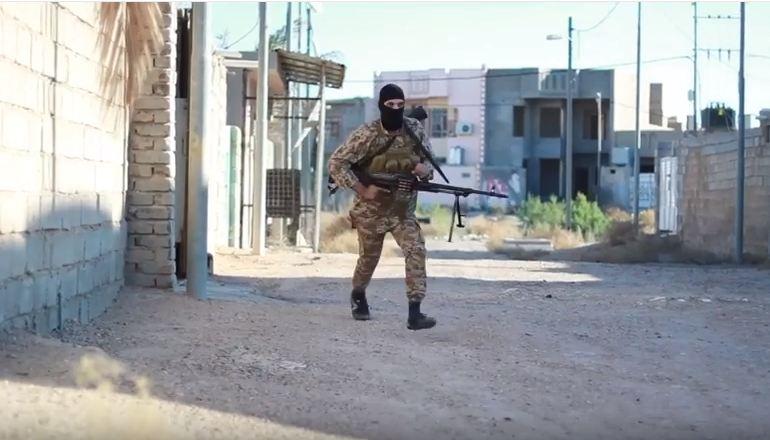 قوة أمنية تقتل انتحاريا داخل نفق وسط عنة غربي الانبار