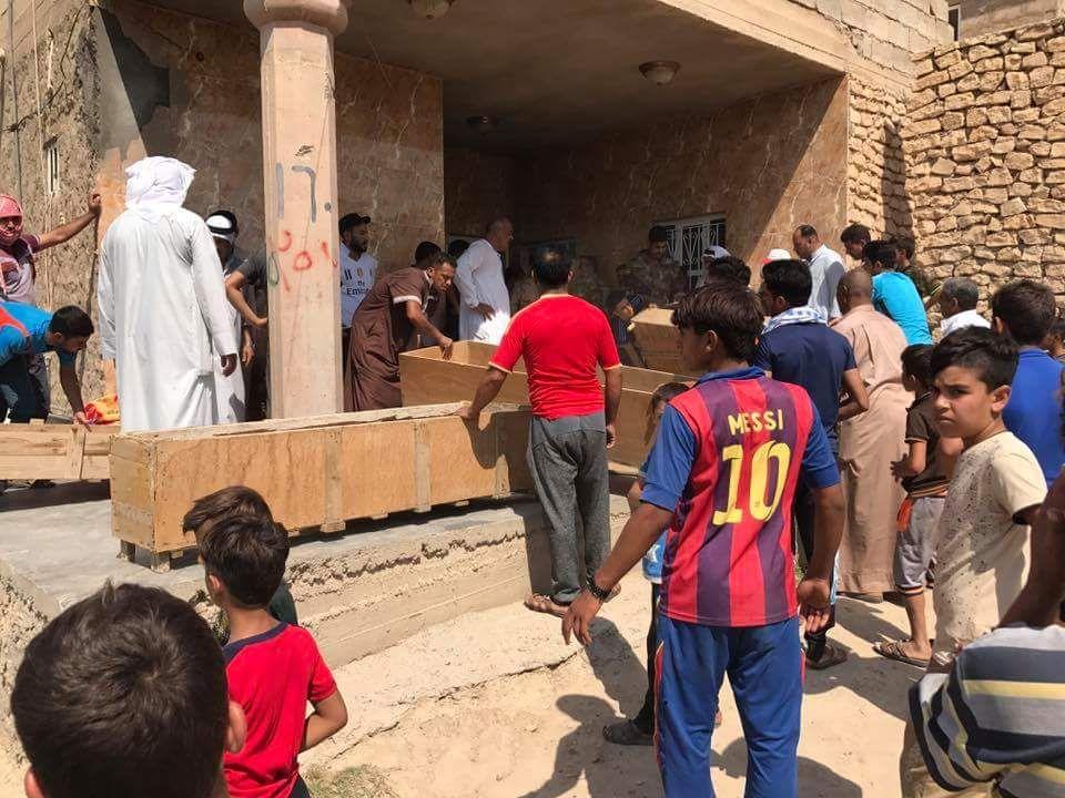فرض حظر للتجوال في جزيرة البو ذياب بالرمادي بعد مقتل عائلة