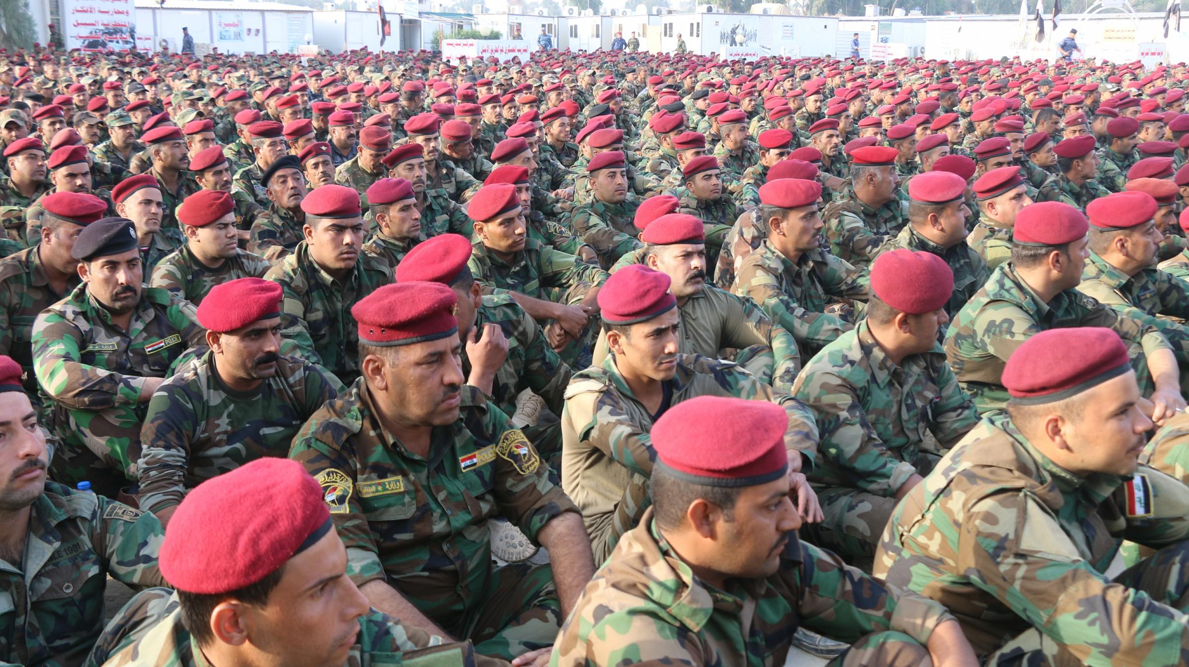 تحرك 4 أفواج من شرطة طوارئ الانبار للمشاركة بتحرير راوة والقائم ومسكهما