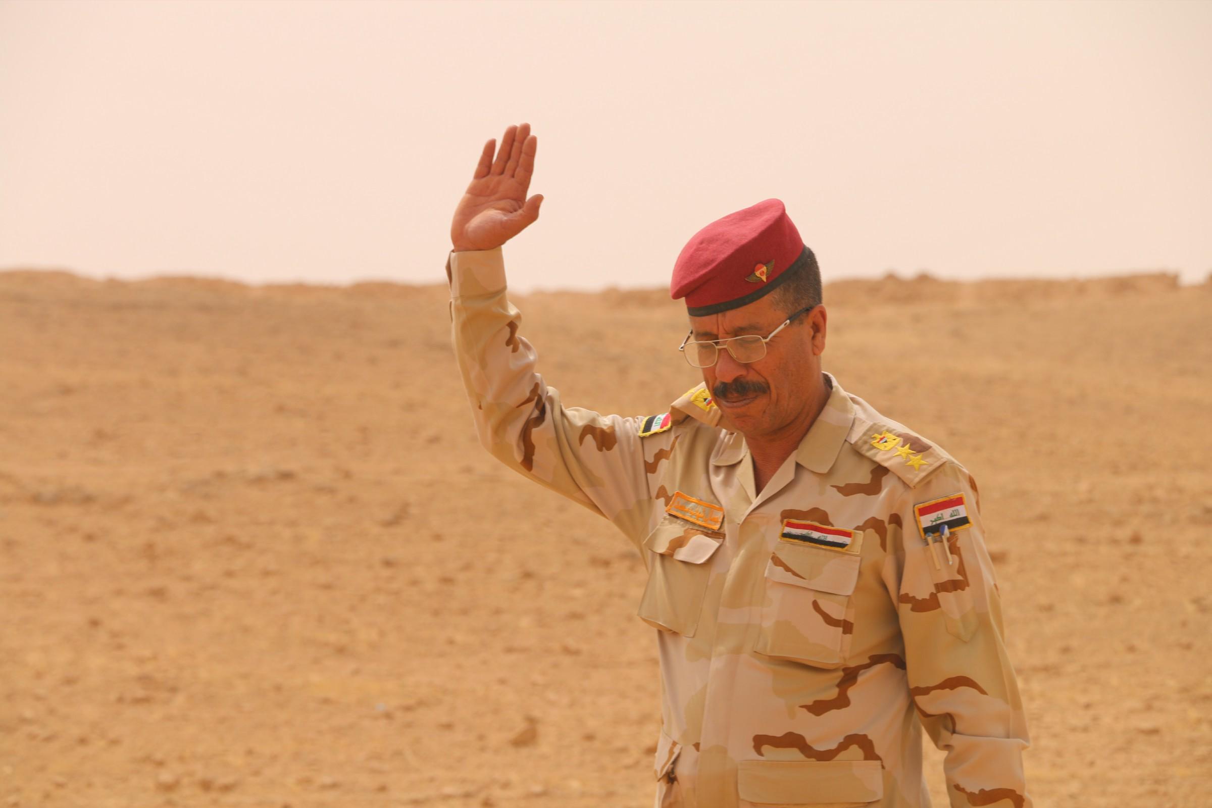 """""""حشد الغربية"""" يعلن اكمال استعداداته للمشاركة بتحرير راوه والقائم"""