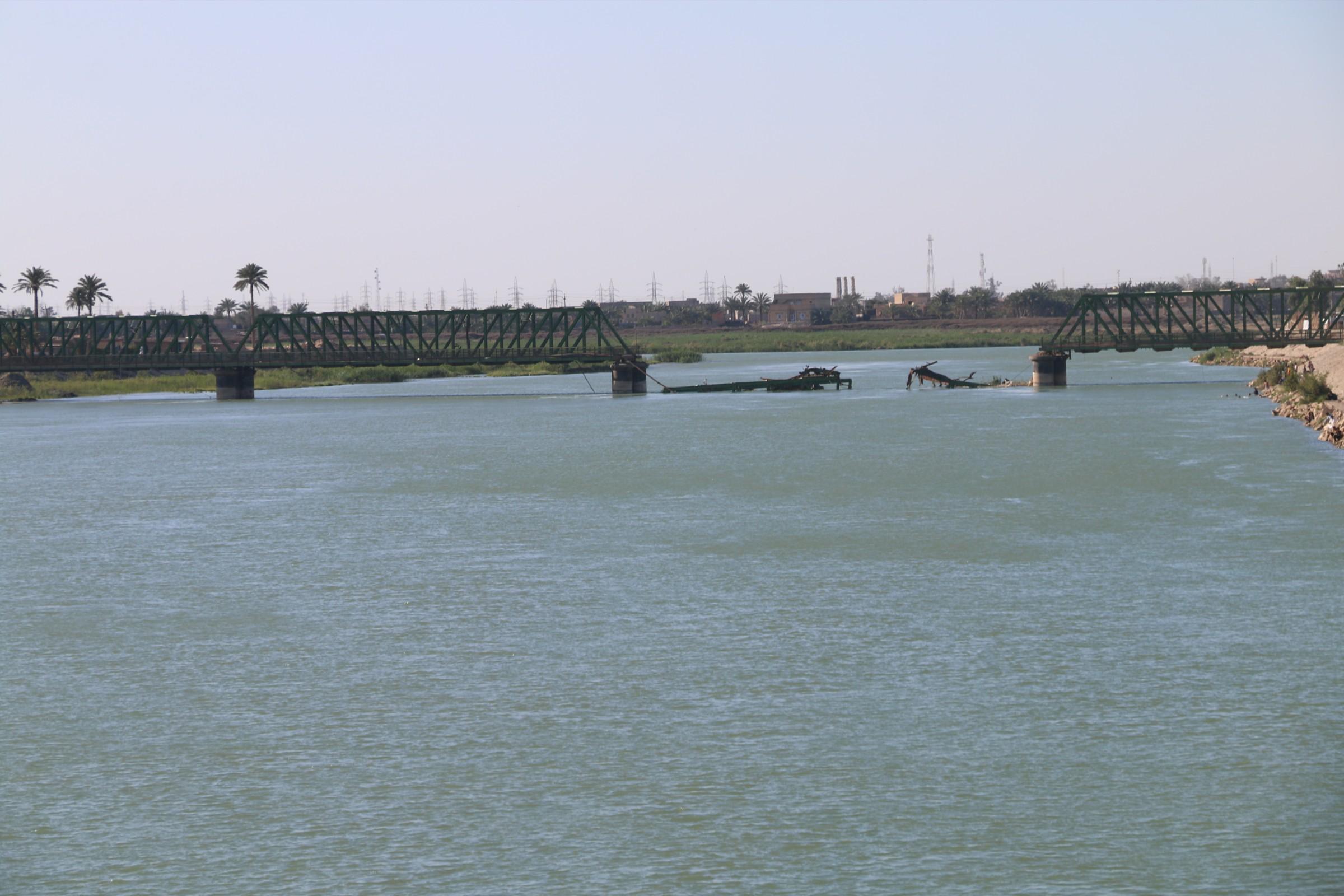 طرق وجسور الأنبار: جسر الفلوجة الحديدي سيتم اعماره خلال ايام