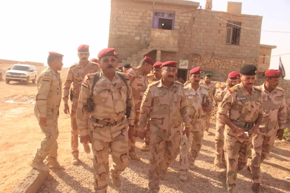 الجيش يبدأ بالتقدم لتحرير ناحية العبيدي شرقي القائم