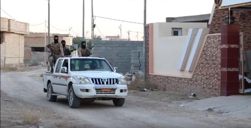 """""""داعش"""" يفرض حظرا للتجوال في العبيدي بعد رفع العلم العراقي فيها"""