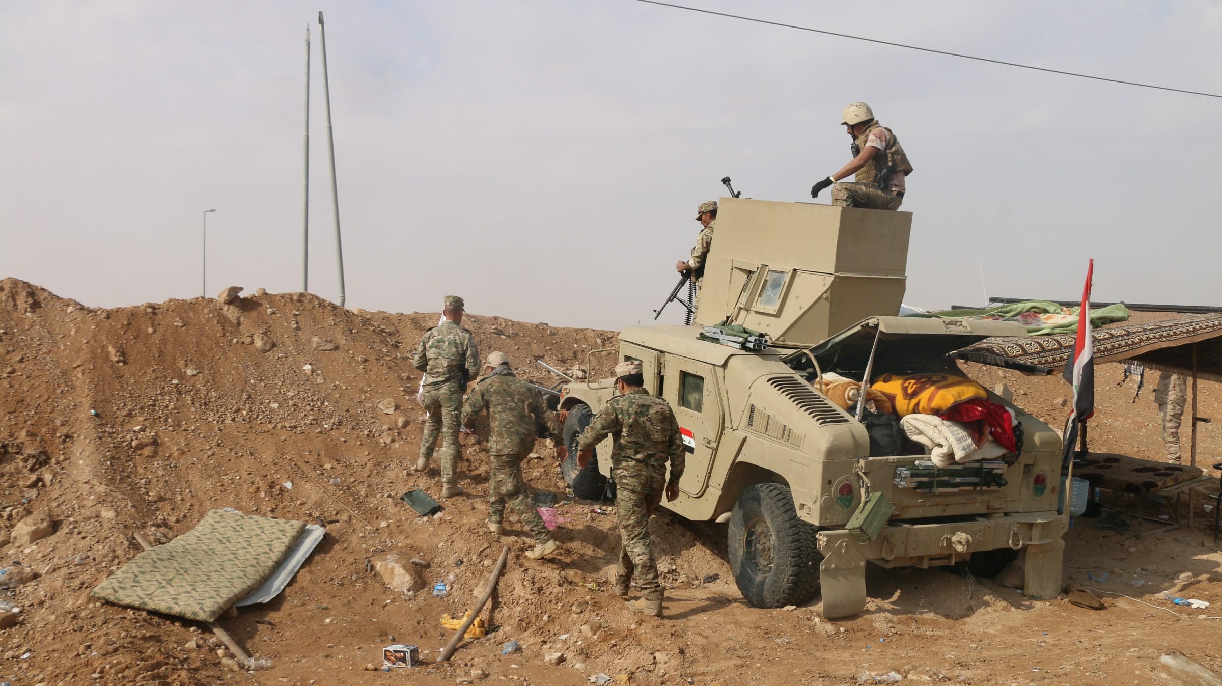 حرس حدود الأنبار يحبط هجوما لداعش قادما من سوريا