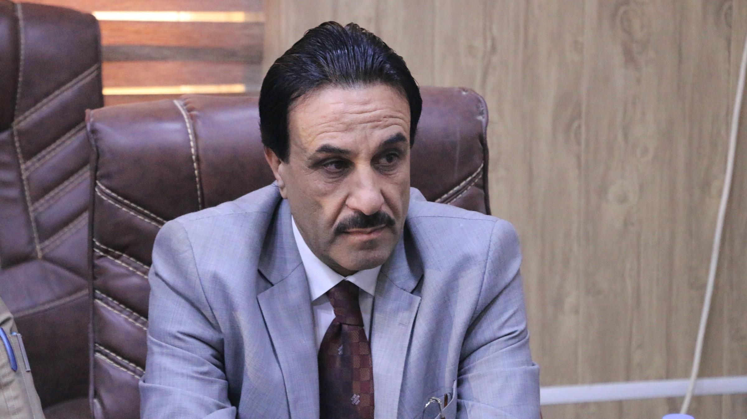 """قائممقام الخالدية يعلن معالجة 13 نازحاً مصاباً بمرض """"الجرب"""" بمخيمات القضاء"""