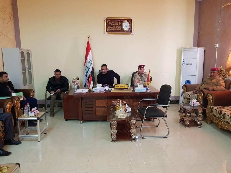 مسؤول محلي يعلن إعفاء أهالي ناحية البغدادي من ديون الكهرباء