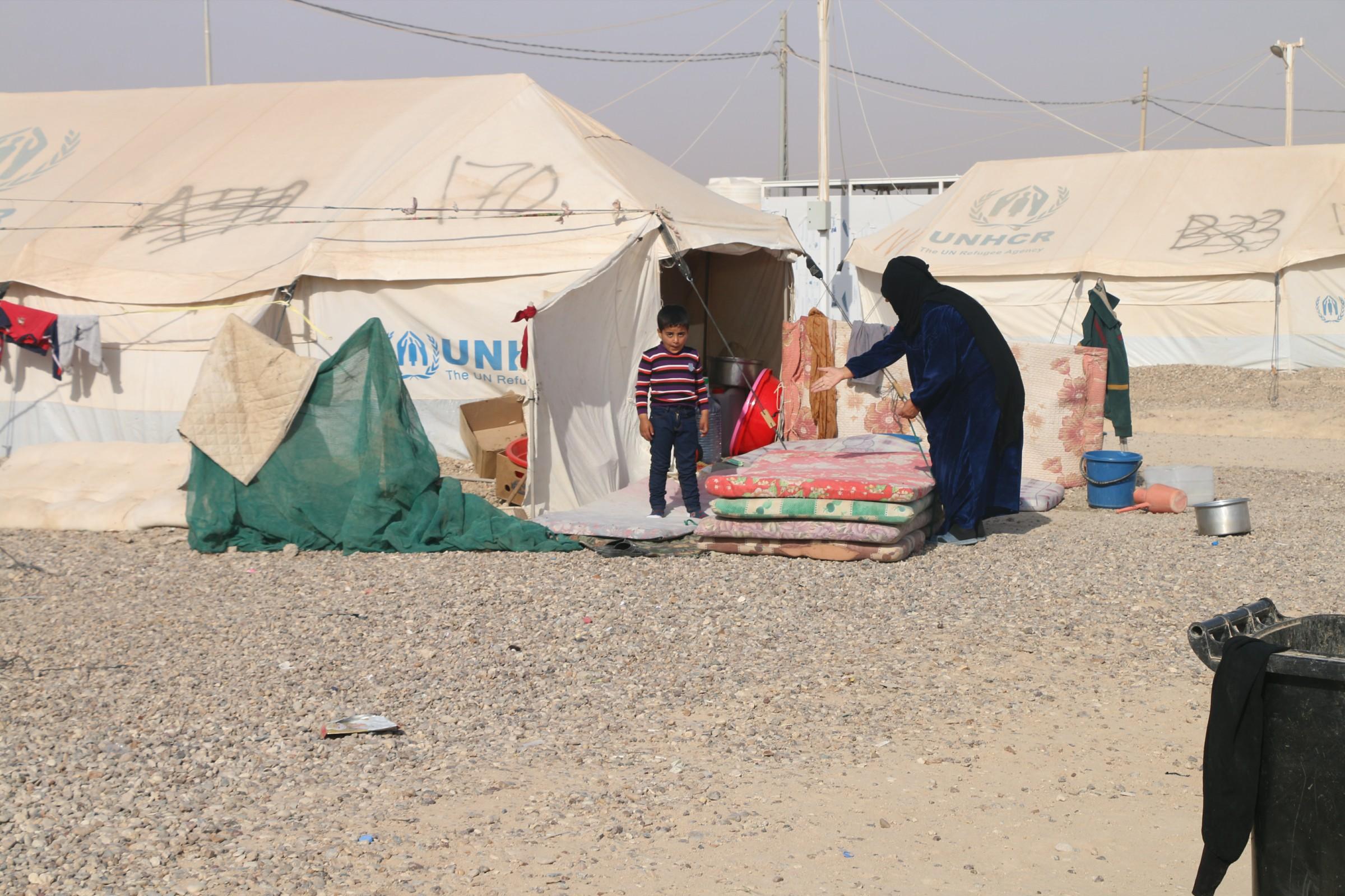 الأنبار تنفي حصول ترحيل قسري من مخيمات النزوح في المحافظة