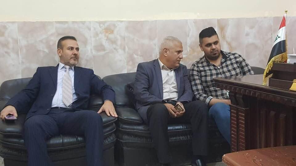 الافراج عن مراسل الشرقية في الأنبار مصطفى الحامد