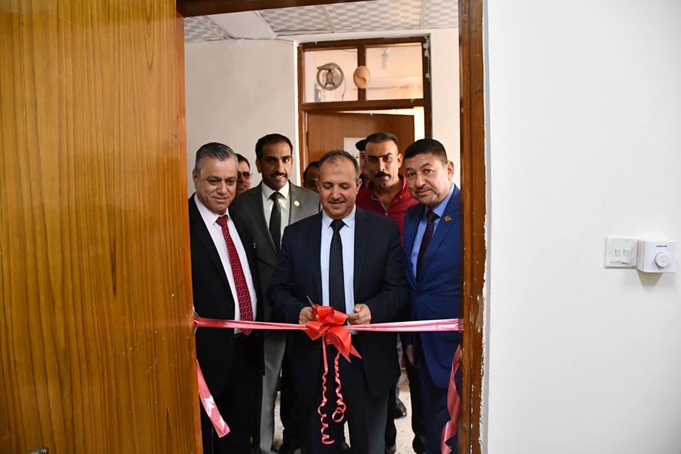 افتتاح غرفة حقوقيي الفلوجة في دار القضاء بالمدينة