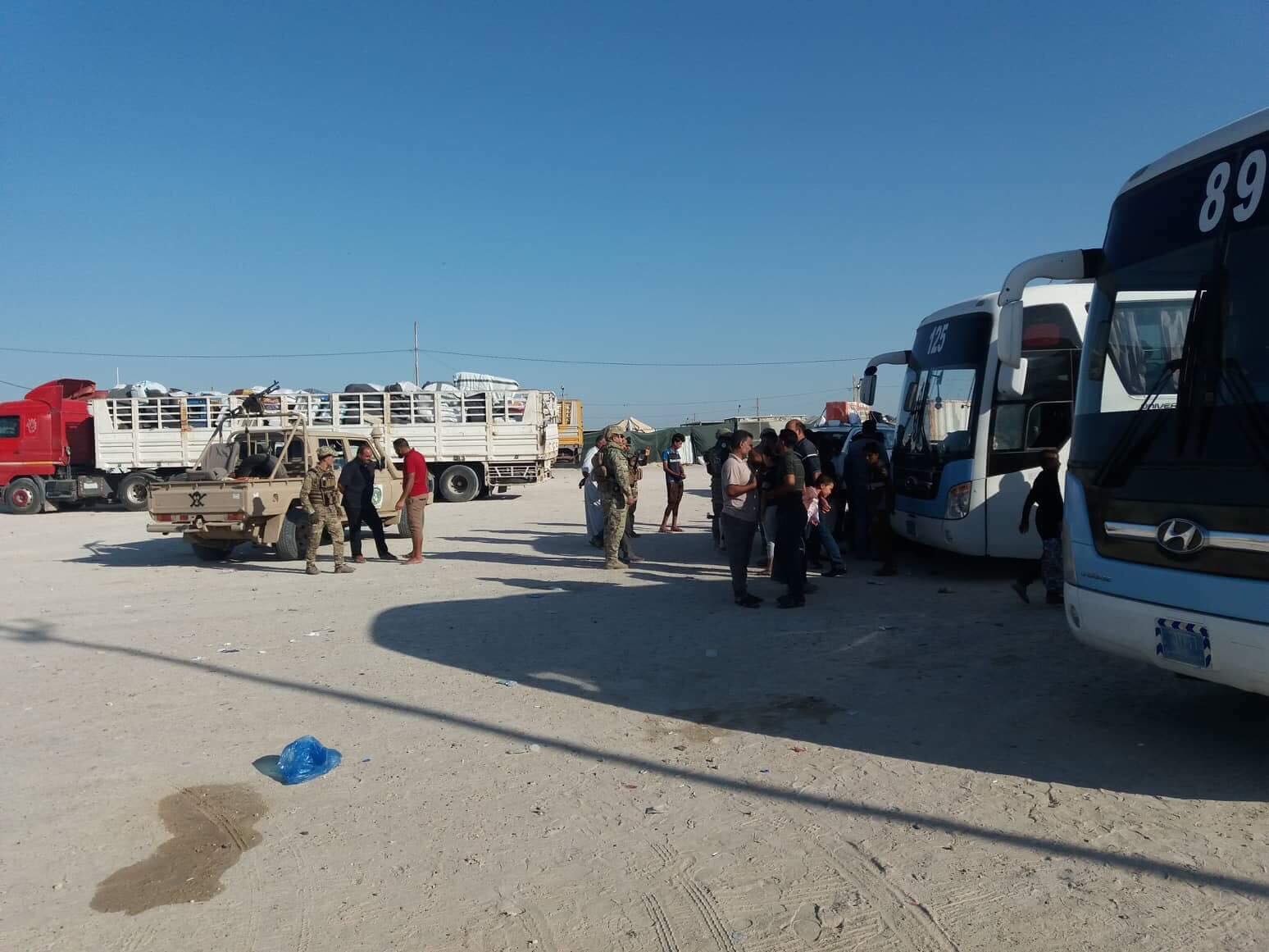 عمليات الأنبار تعلن اغلاق اول مخيم للنازحين في الخالدية