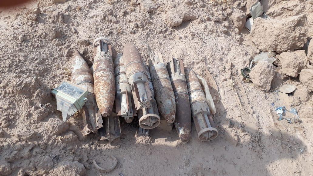 قوة مشتركة تفجر مخلفات داعش بالأنبار