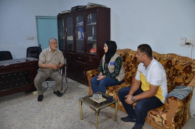 رئيس الجمعية الخيرية الإسلامية يبحث مع المجلس الدنماركي للاجئين سبل التعاون بين الجانبين