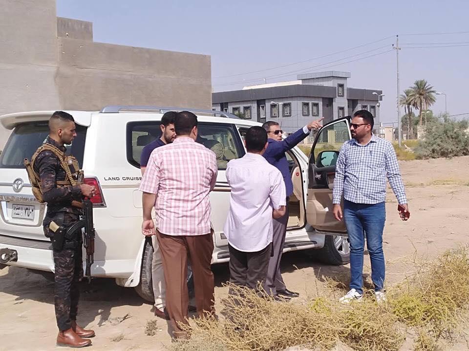 قائممقام الرمادي يعلن اعتقال ثلاثة اشخاص يبتزون اصحاب اراضي بالقضاء
