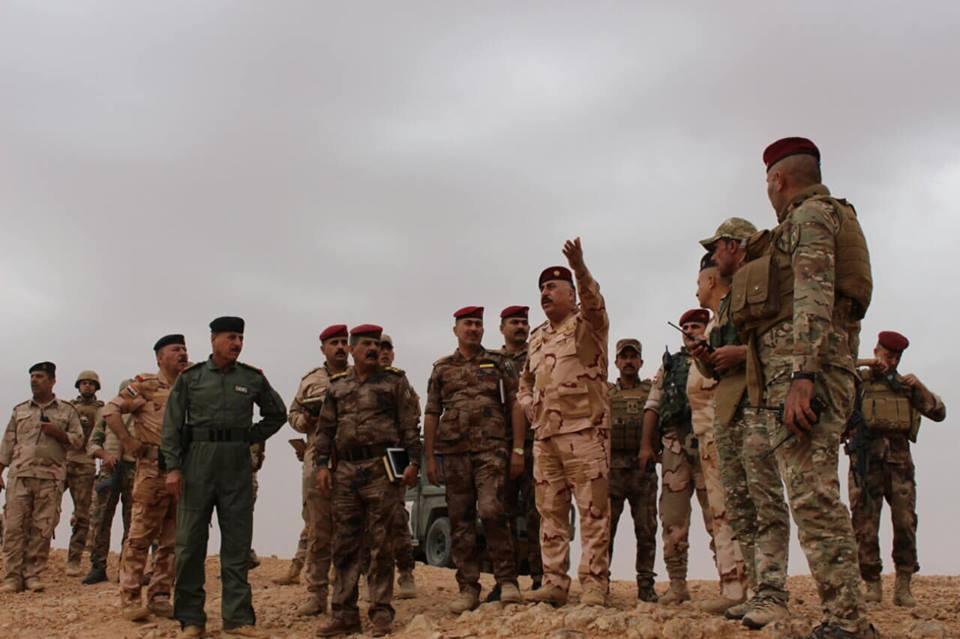 بالصور.. قائد عمليات الجزيرة على الحدود العراقية السورية