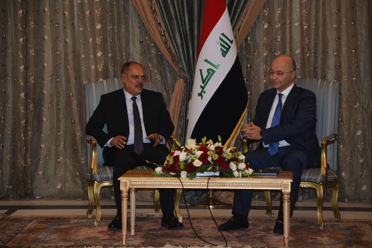 الرئيس العراقي يؤكد للامي قدرة العراقيين على تجاوز الصعاب