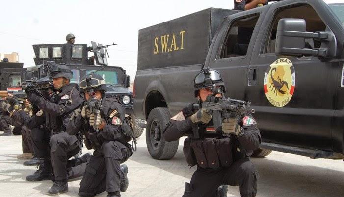 بتعاون الاهالي.. قوات سوات القائم تفكك حزام ناسف معد للتفجير