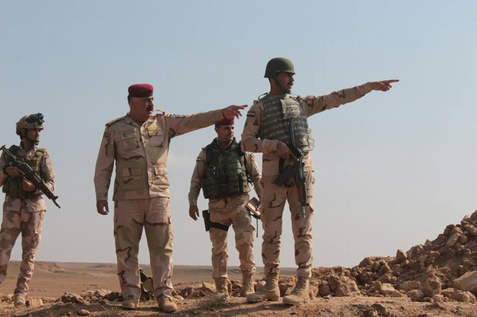بالصور… حشد الأسود على الحدود العراقية السورية