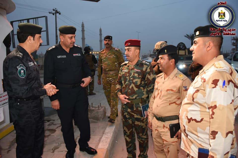 قائد شرطة الأنبار: الفلوجة تنعم بالامن والاستقرار بعد القبض على مجموعة ارهابية