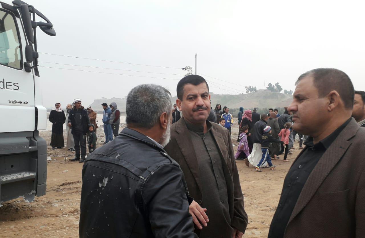 استنفار جهود وزارة الاتصالات لإنقاذ المدنين في الشرقاط