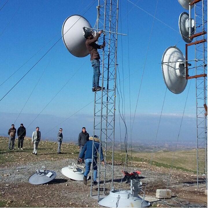 العراق.. الاطاحة بأكبر عمليات التهريب لسعات الانترنت في كركوك