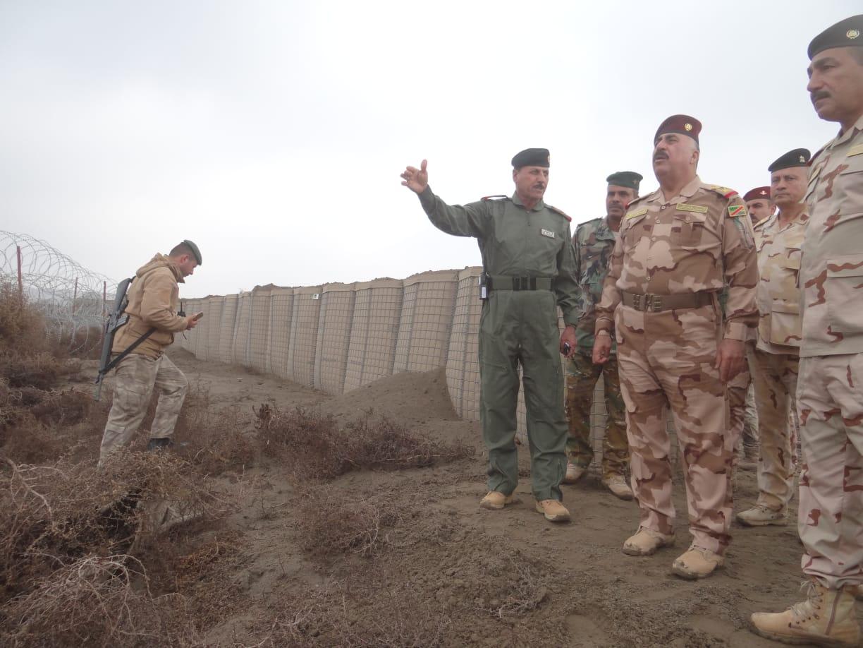 الفرقة الثامنة والحشد العشائري يلاحقون خلايا من داعش بالقائم