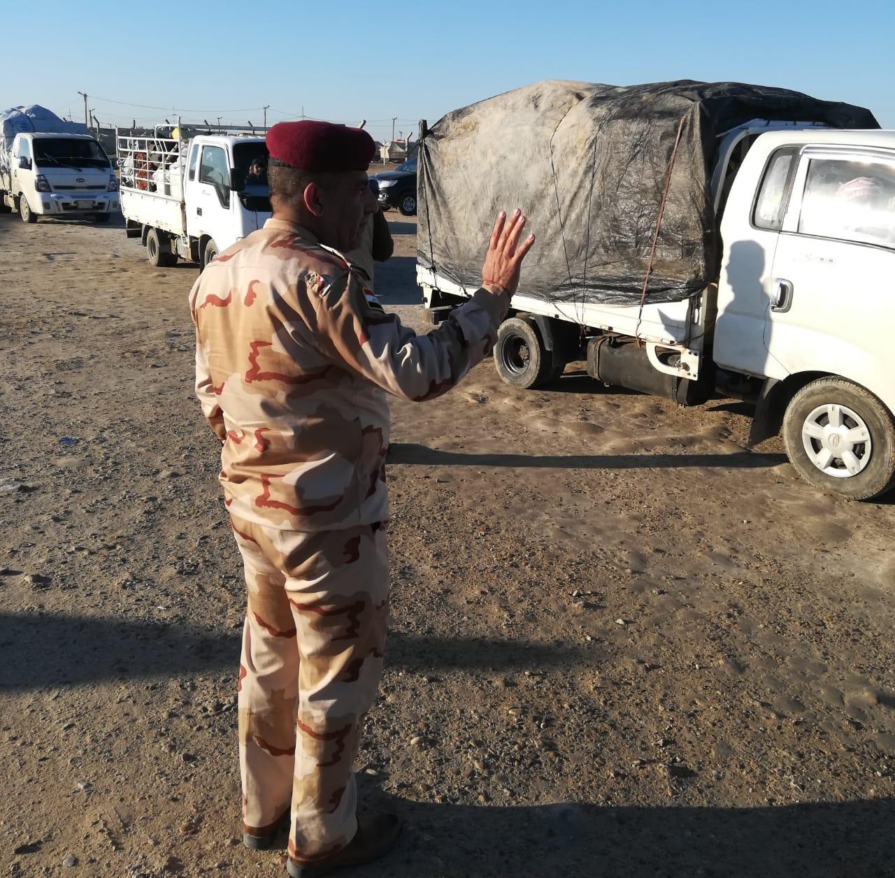 عمليات الانبار تسعى لغلق المخيمات من خلال اعادة النازحين لمناطقها المحررة