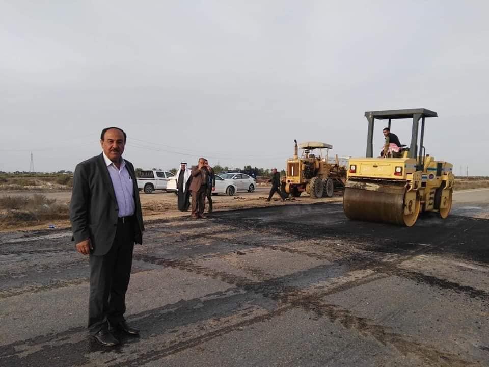 مدير طرق وجسور الأنبار يعلن احالة انشاء طريق حدودي جديد الى الاعمار