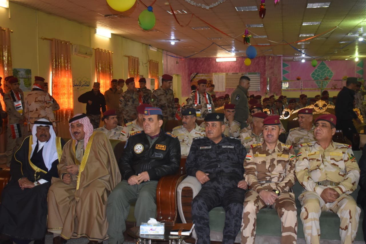 الانبار.. عمليات الجزيرة تقيم احتفالا بمناسبة الذكرى٩٨لتأسيس الجيش العراقي