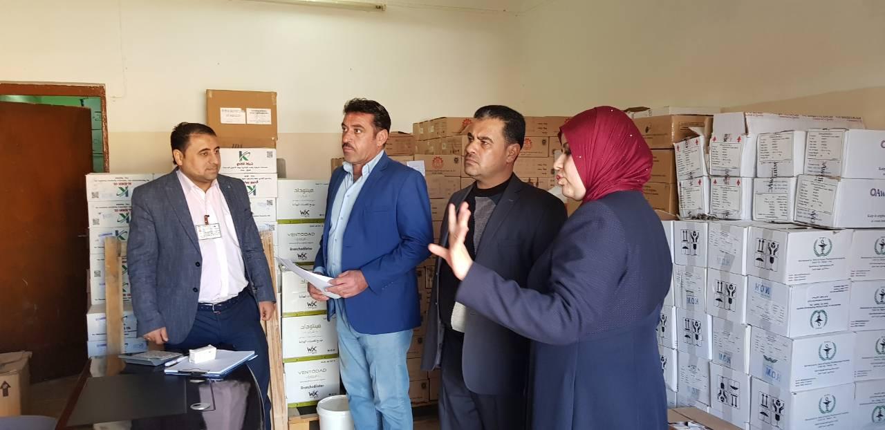 الأنبار.. لجنة الصحة في مجلس الرطبة تزور القطاع الصحي بالقضاء