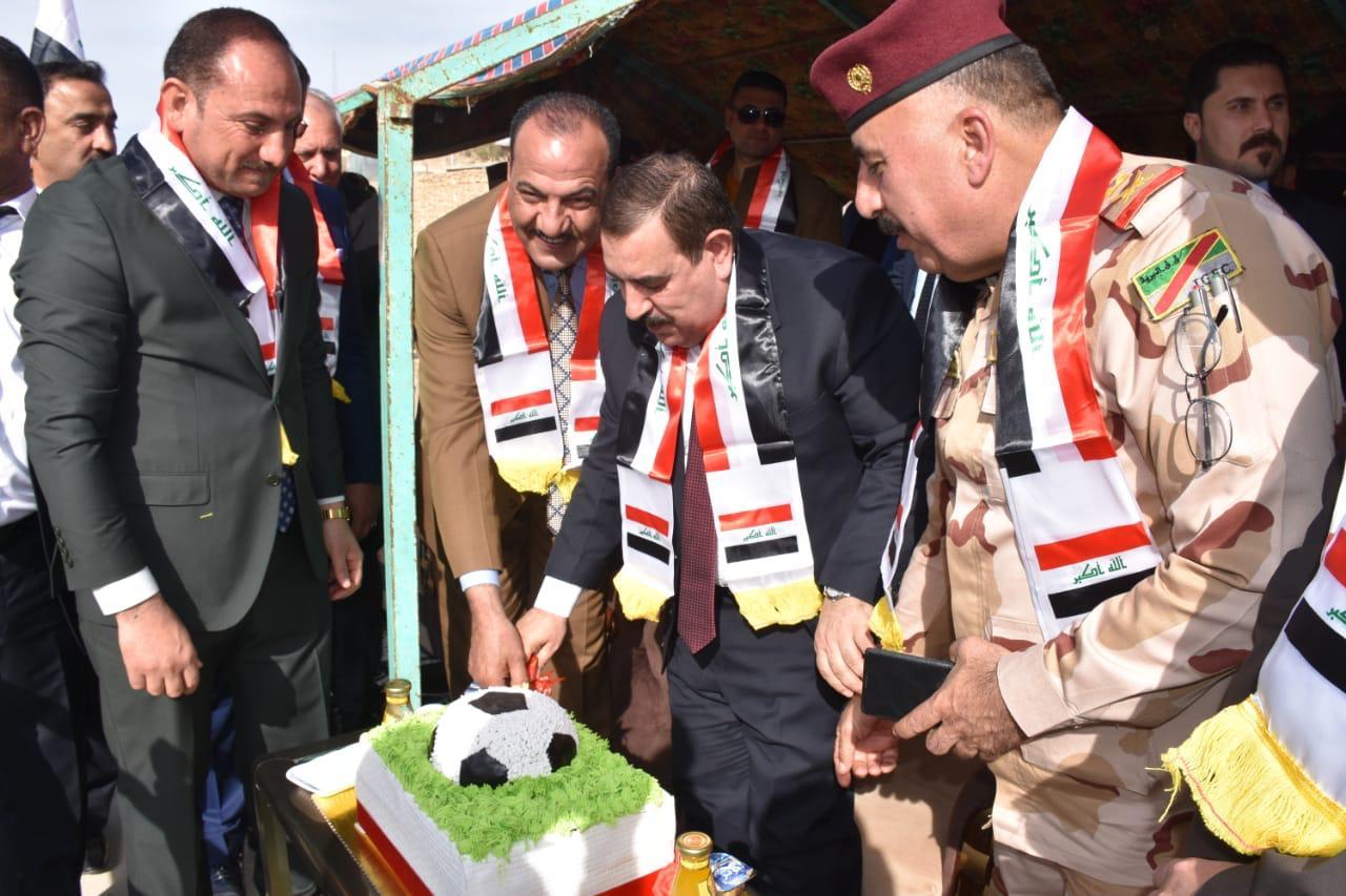 محافظ الانبار يزور مدينة حديثة الصمود