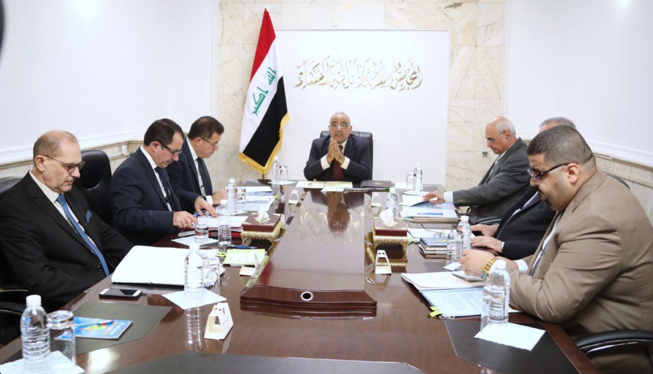 عادل عبدالمهدي: مكافحة الفساد تكاد تمثل نصف عمل الدولة